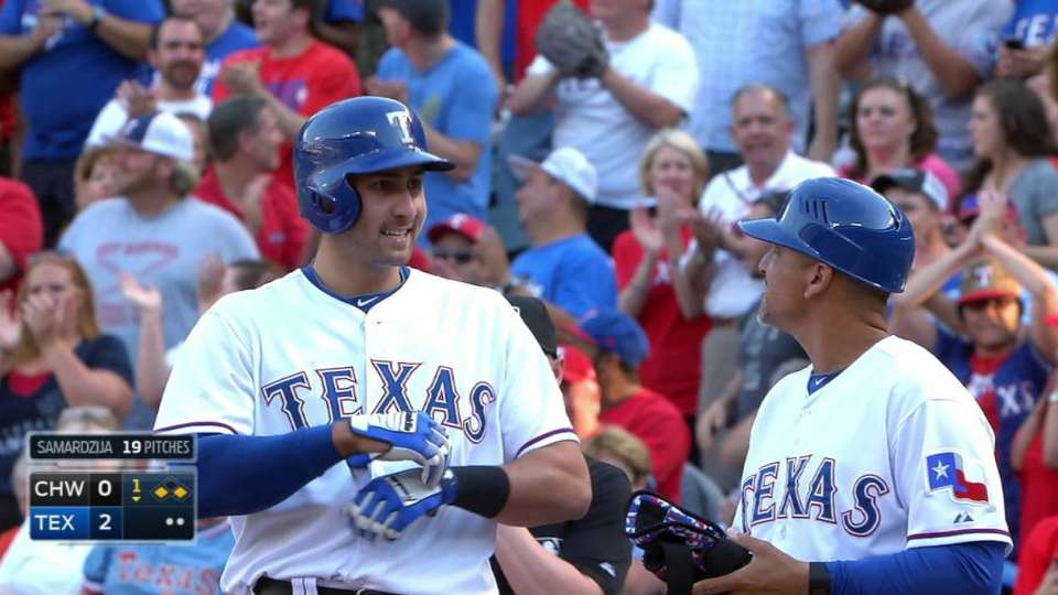 Gallo's first career hit