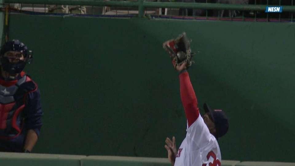 Castillo's nice catch