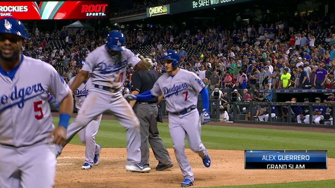 Guerrero ha progresado a pasos agigantados en los Dodgers