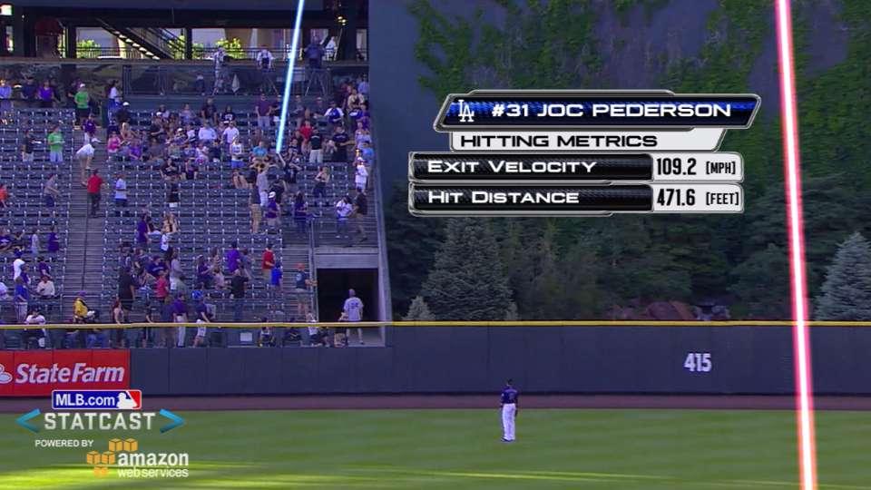 Statcast: Pederson's no-doubter