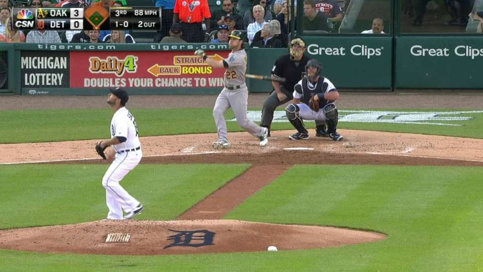 Reddick's solo home run