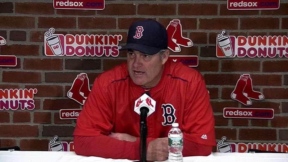 Farrell on Red Sox's 2-0 loss