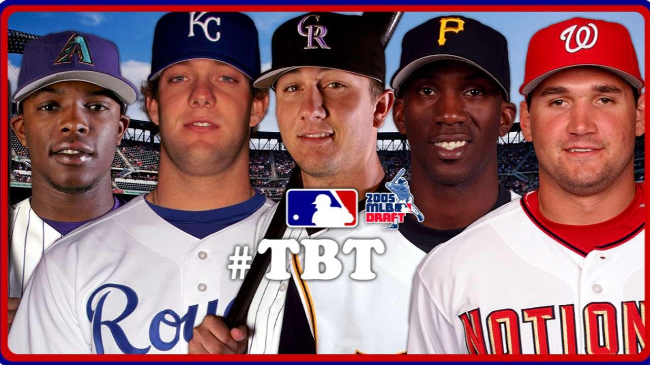 87d231118 TBT  2005 MLB Draft
