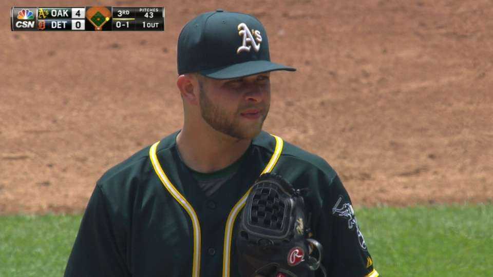 Hahn holds Tigers to one run