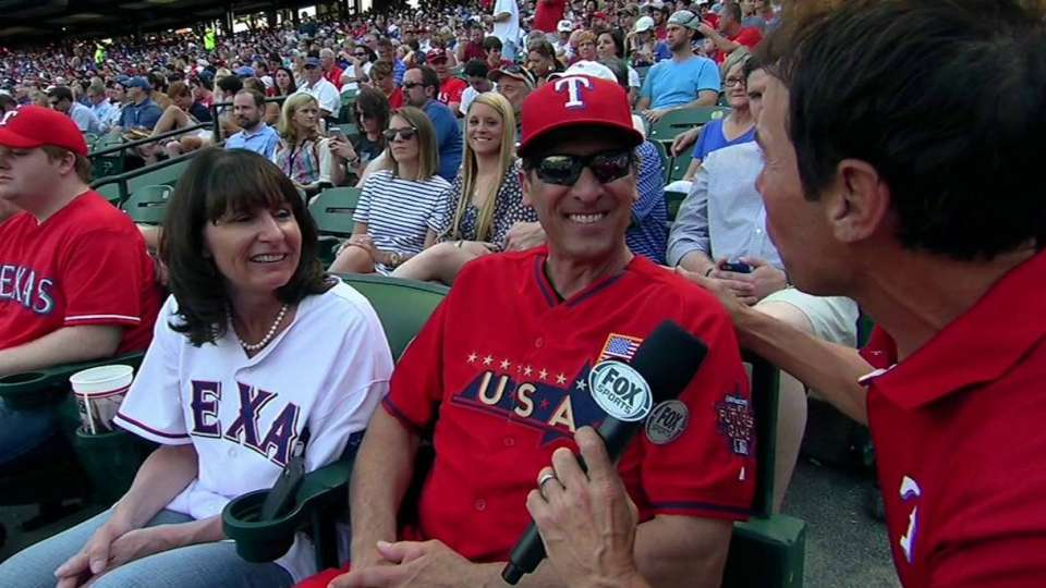 Gallo's parents on debut