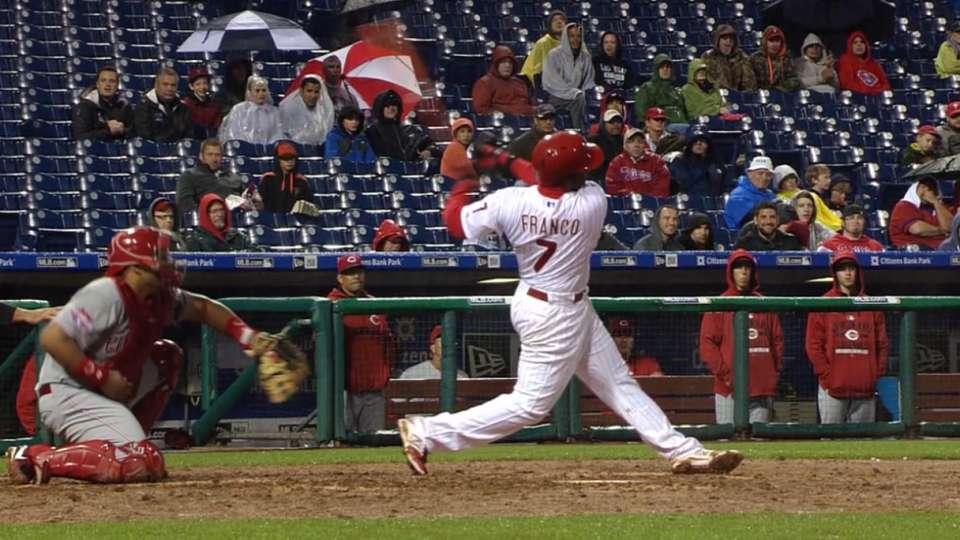 Franco's clutch two-run homer