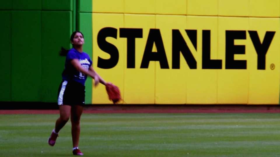 Marlins host RBI Softball Clinic