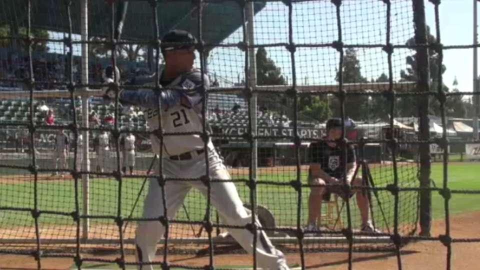 2015 Draft: Garrett Whitley, OF