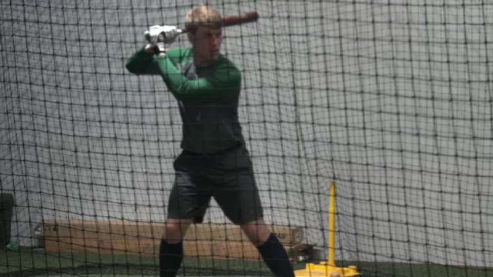 2015 Draft: Tyler Stephenson, C