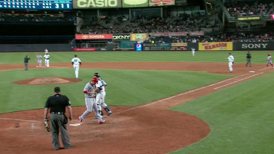 Giavotella's grounder adds a run