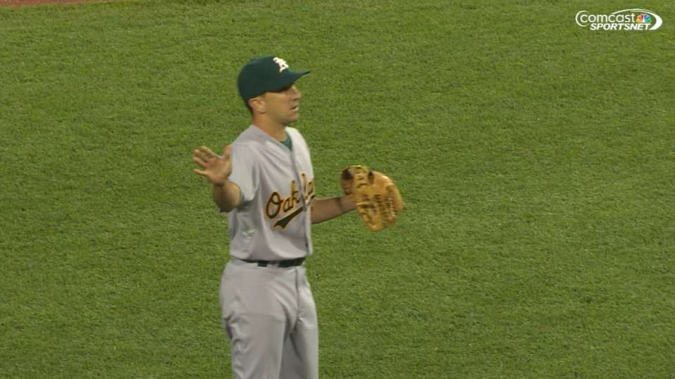 Venditte switches pitching hands