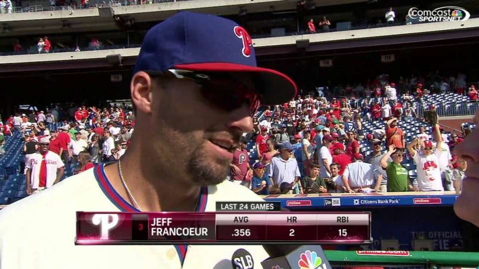 Francoeur on win
