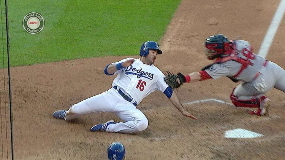 Heyward throws out Ethier
