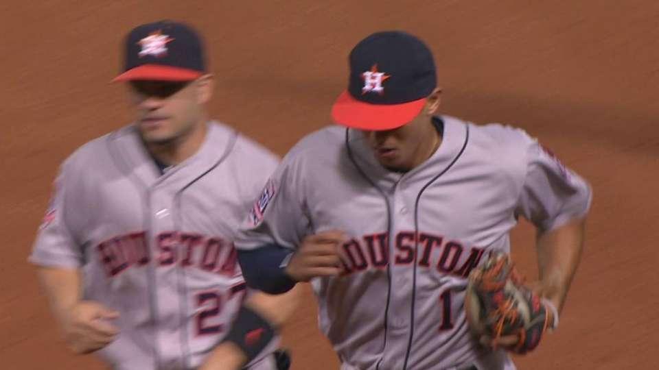 Correa's impressive stop