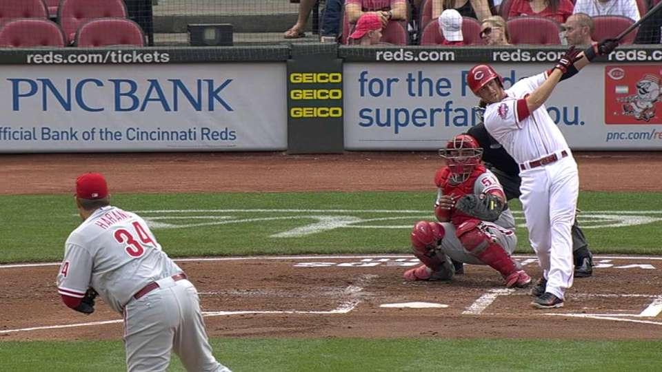 Cozart's three-run homer