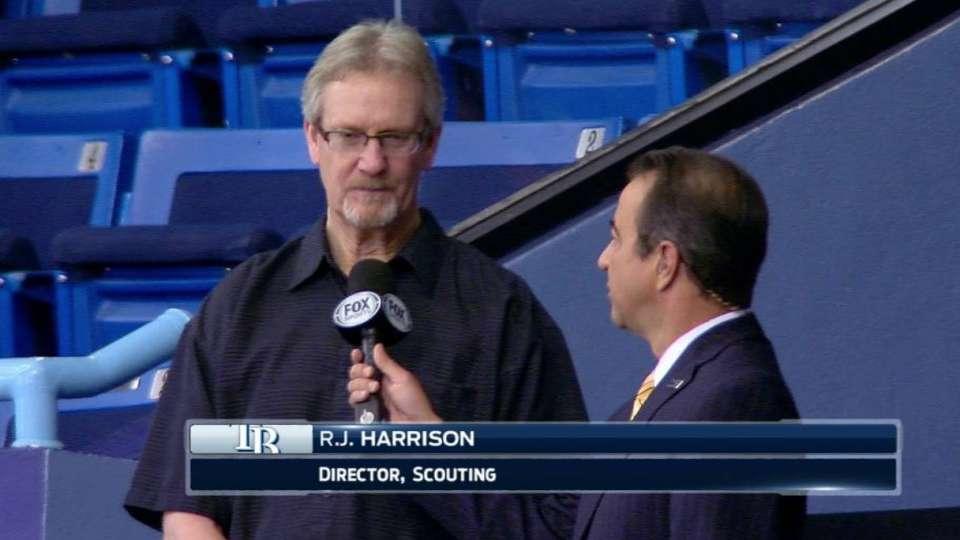 Harrison on Rays' Draft