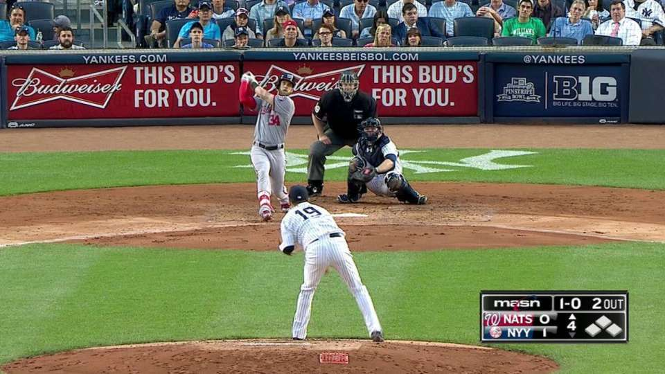 Harper's 20th homer
