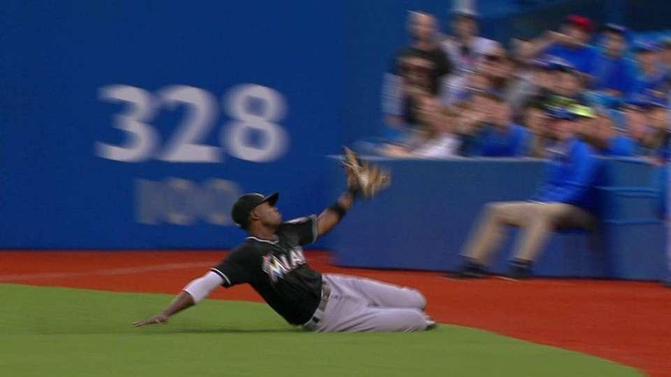 Gordon's outstanding catch