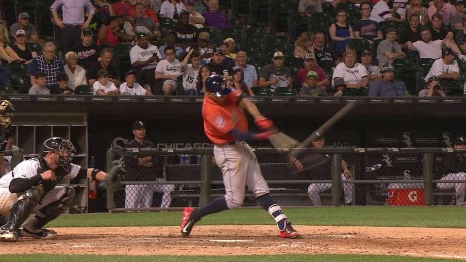 Correa's first career homer