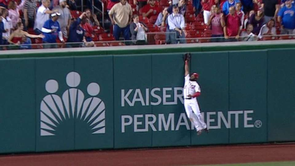 Must C: Span leaps to rob Rizzo
