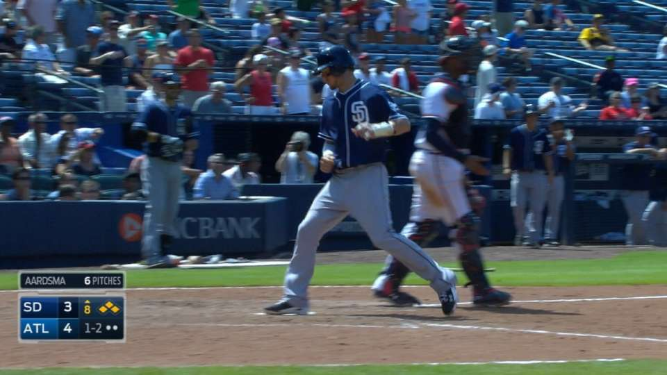 Padres tie game in odd 8th