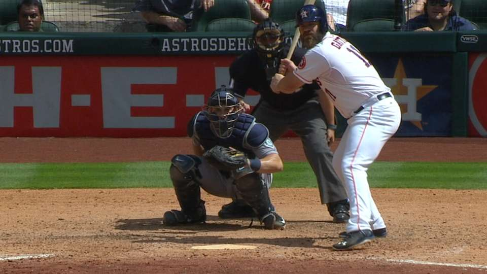 Must C: Gattis hits two homers