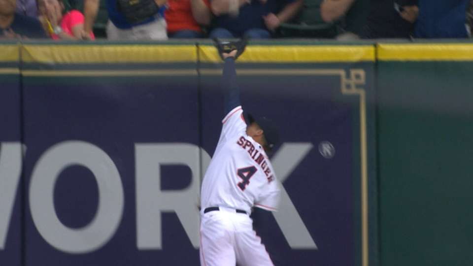 Must C: Springer slams into wall