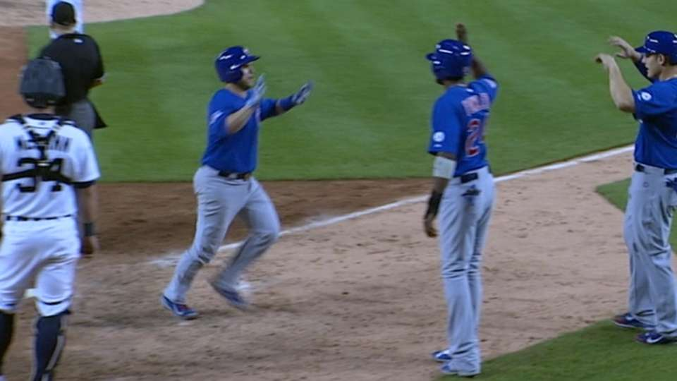 Montero's three-run blast