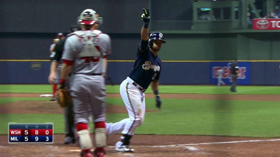 Parra's game-tying solo shot