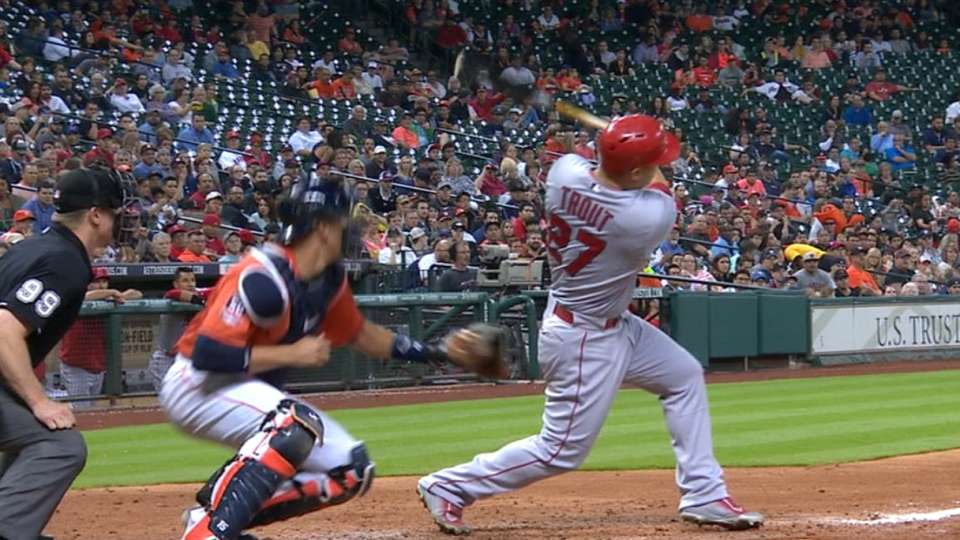 Must C: Trout joins 100 HR club