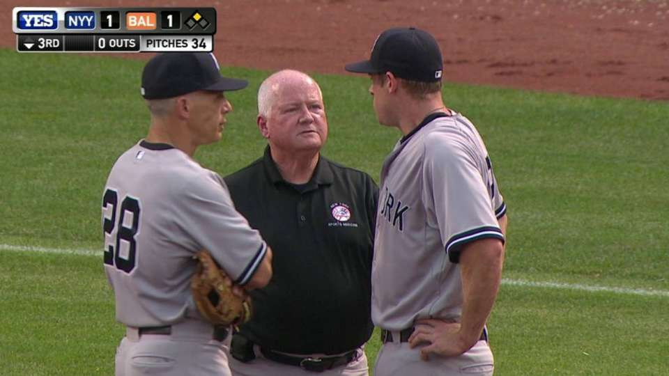 Headley's apparent injury