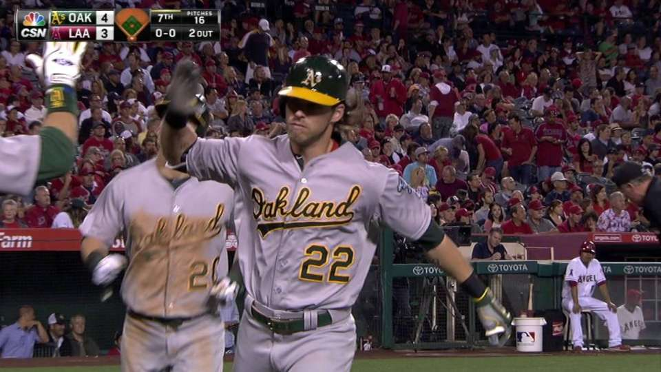 Reddick's two-run blast