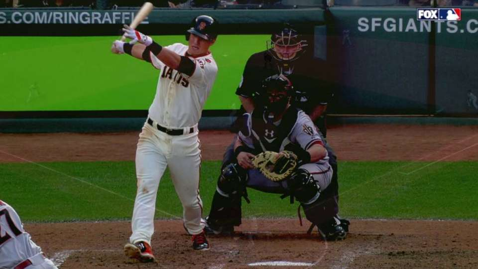 Panik breaks up no-hitter