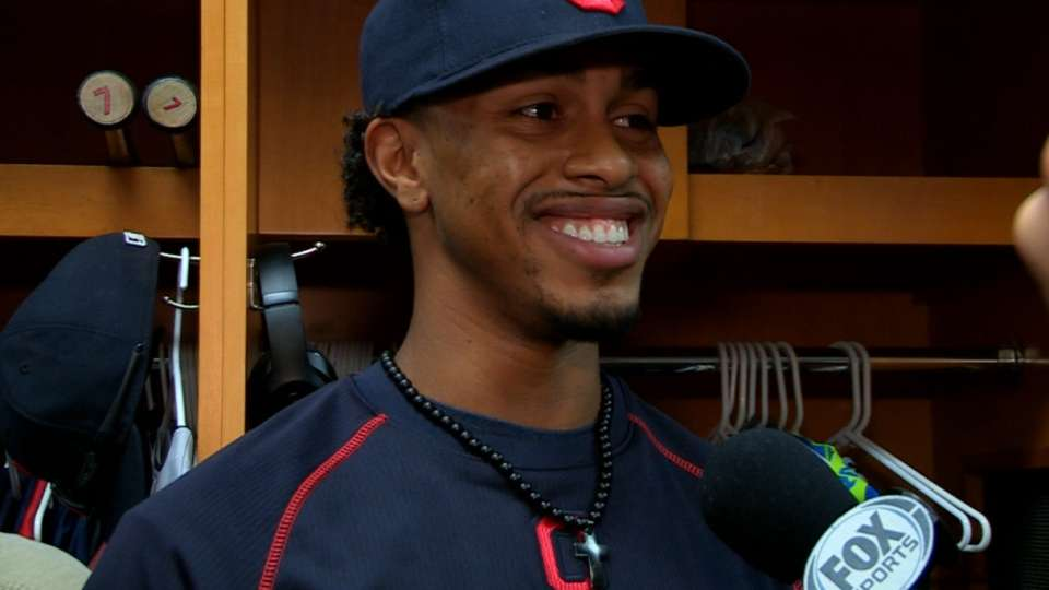 Lindor on his recent callup