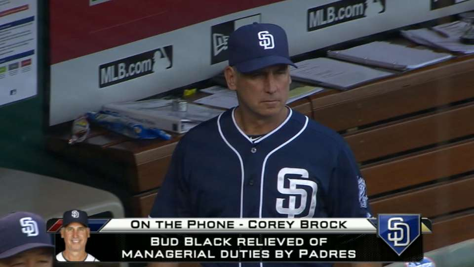 Brock on Black's dismissal