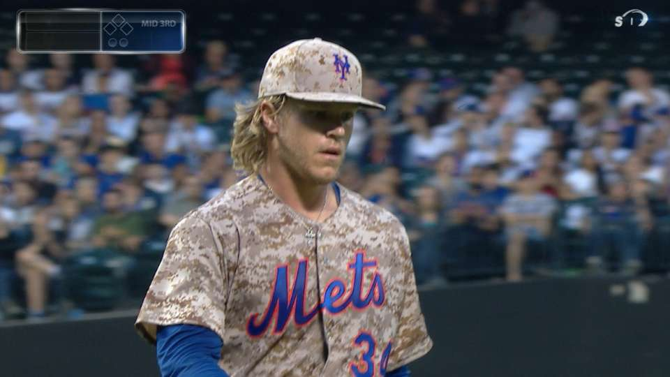 Syndergaard strikes out 11