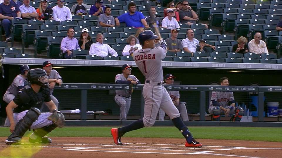 Astros' four-homer game