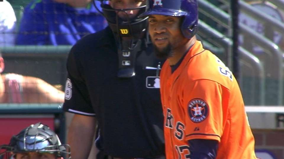 Houston, Domingo Santana!