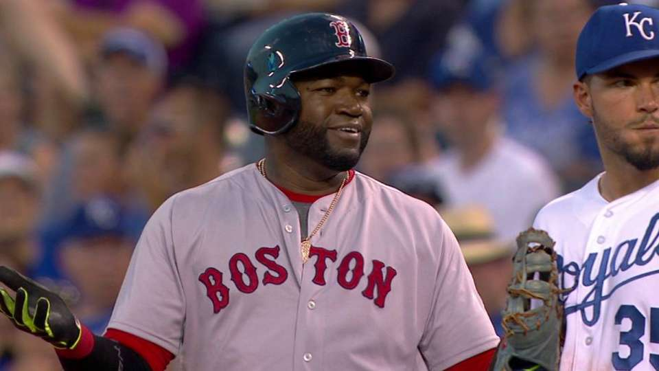 Ortiz ejected in the 7th inning