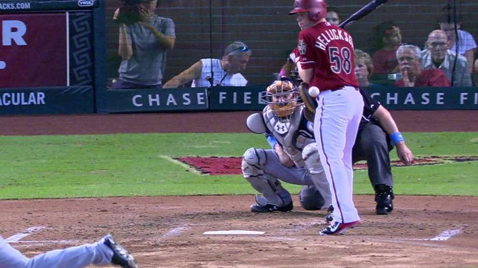 Hellickson's RBI hit-by-pitch