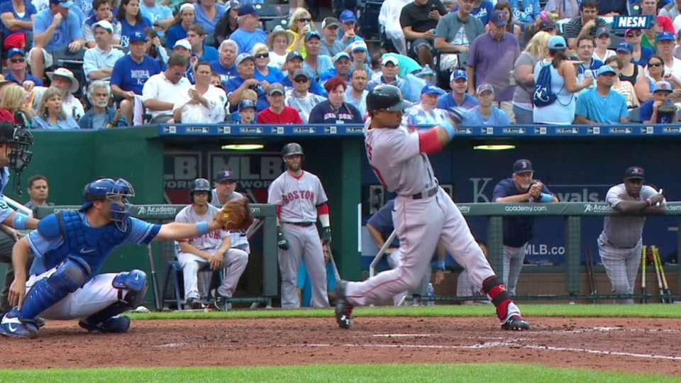 Betts' two-run home run