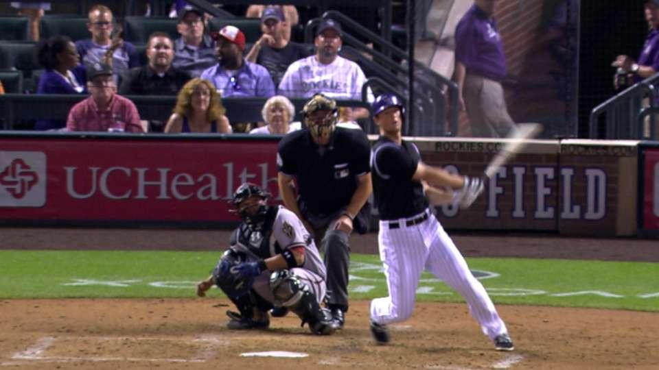Rockies hit five homers