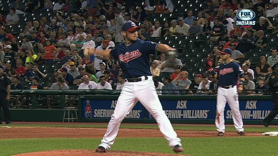 Raburn's 1-2-3 ninth inning