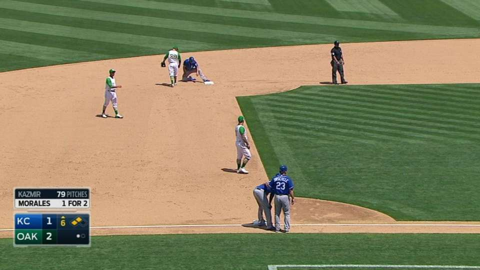 Cain and Hosmer's double steal