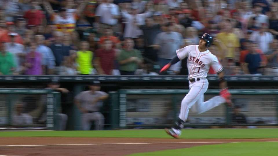 Must C: Correa circles the bases