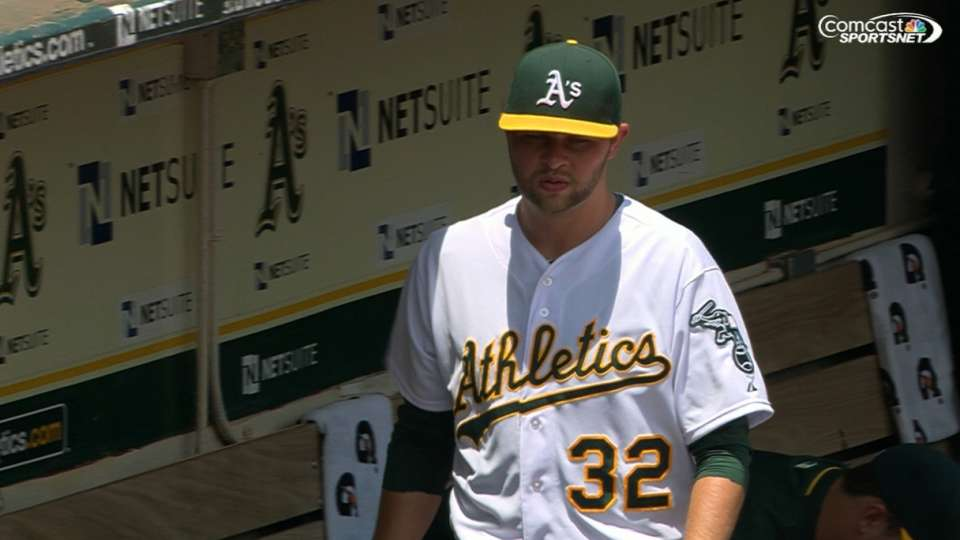 Hahn's six strikeouts