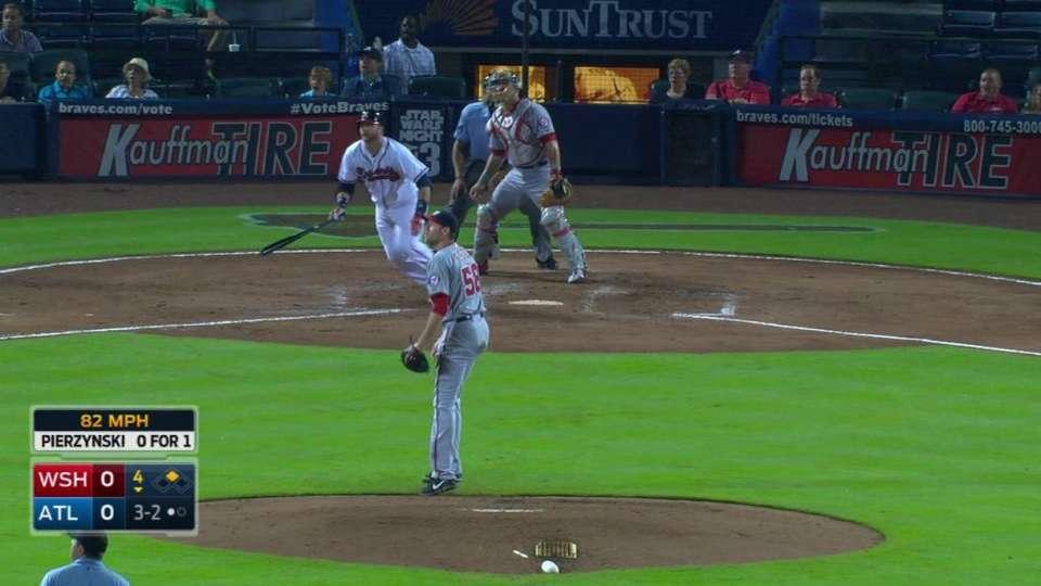 Pierzynski's two-run homer