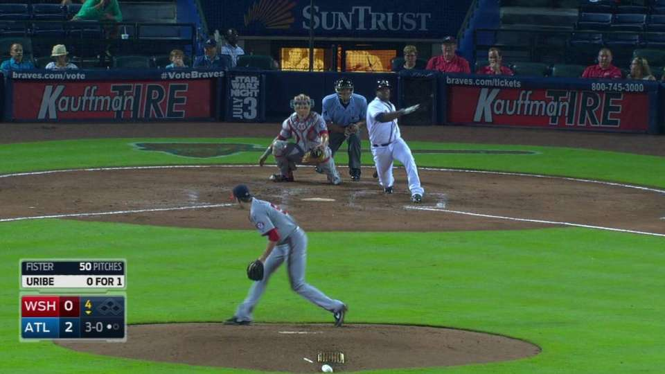 Uribe's solo homer