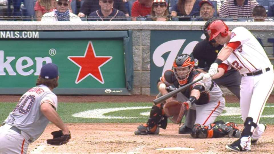 Moore's four-RBI game