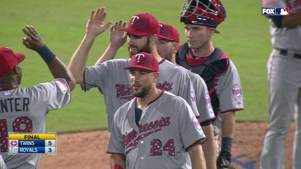 Perkins notches the save
